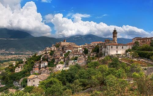 Capestrano-Abruzzo-Italia