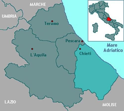 Capital City Oil >> The Province of Chieti - Immobiliare Caserio resources