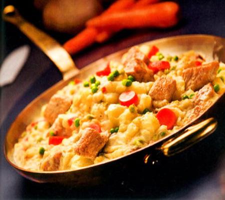 Puchero-and-Corn-Bread