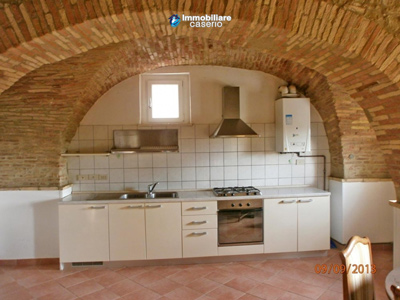 Town house with arches brick and stone for sale in Lanciano, Chieti, Abruzzo, Italy