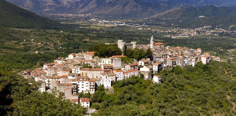 The City of Isernia, Molise, Italy