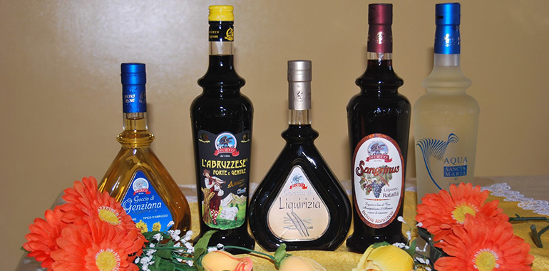 Liqueurs from Abruzzo