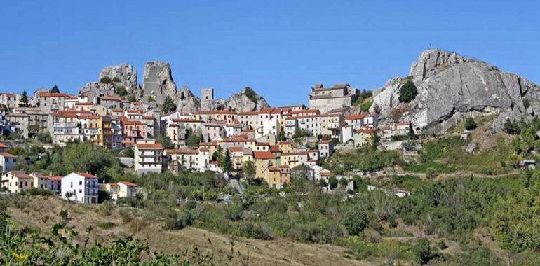 Village of Pietrabbondante Italy