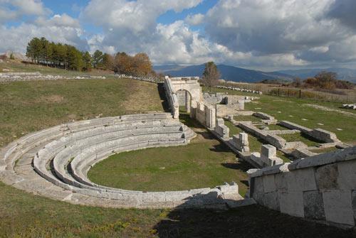 Sepino-Campobasso-Italy-Molise