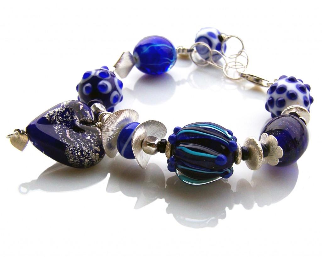 Bracelet-with-pearls-Venetian-murano