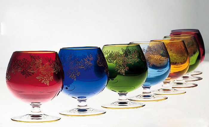 Art of Murano glass handcraft