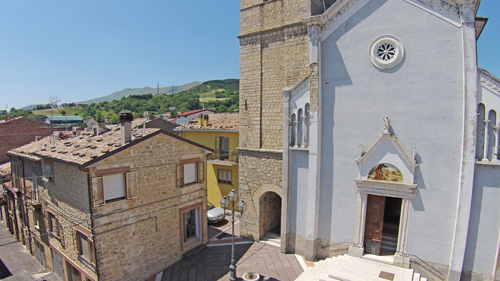 church-belfry-having-aerea-Abruzzo