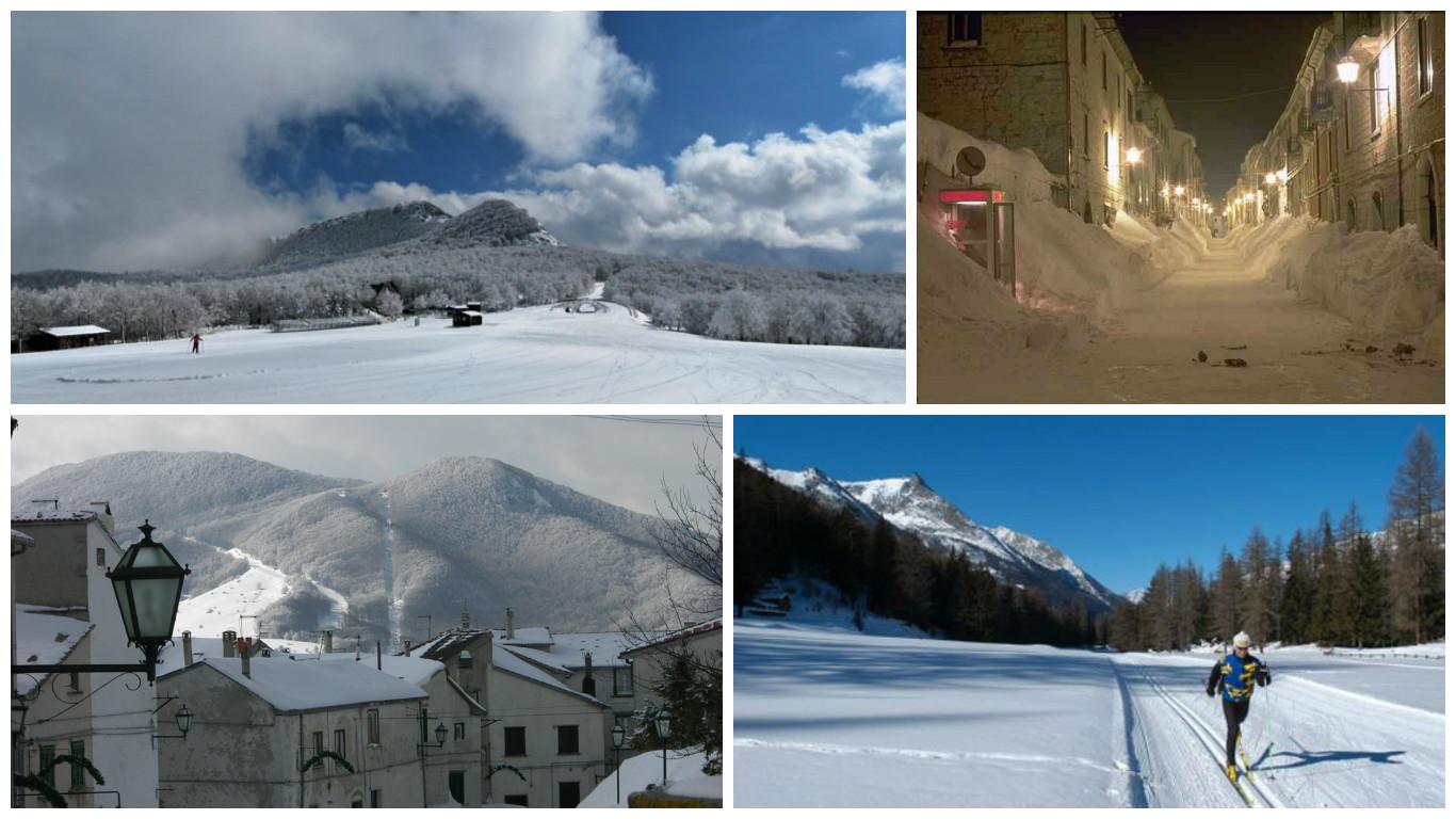 ski slopes of Capracotta