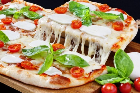 Pizza traditional italian