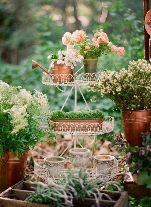 vases-copper-flowers