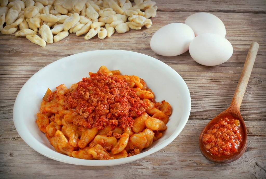 cavatelli-pasta-food