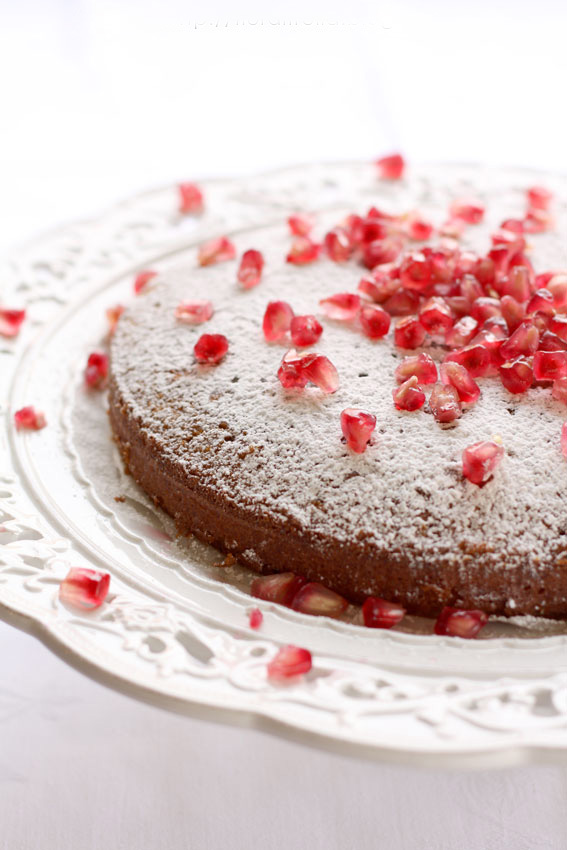 pomegranate-cake