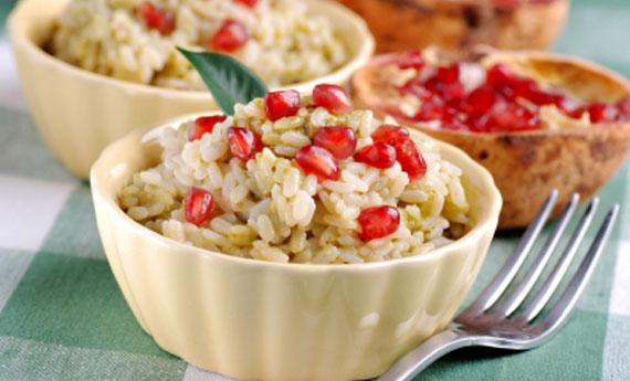 rice-pomegranate