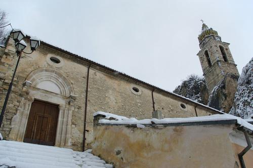 church san silvestro bagnoli del trigno