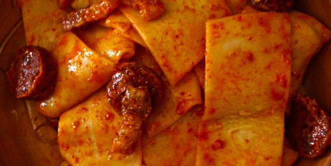 sagne a pezze-of abruzzo